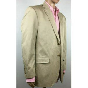 Tommy Hilfiger  2 Button Brown Modern Blazer